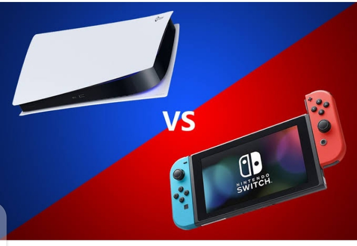 PlayStation 5 vs Nintendo Switch