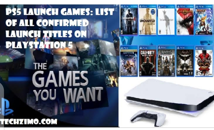 PlayStation plus Collection Game List